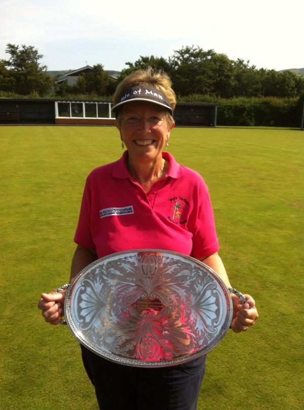 Ladies Manx Championship Winner 2013