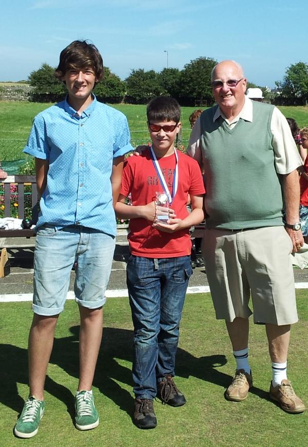 Bill Oliver Junior - Winner 2013 (Younger Category)
