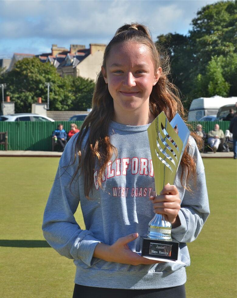 Madison McMullan - Junior Manx Masters Winner 2021